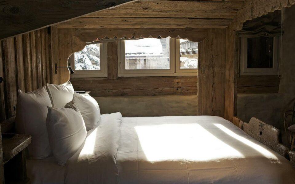 le chalet zannier a design boutique hotel meg ve france. Black Bedroom Furniture Sets. Home Design Ideas