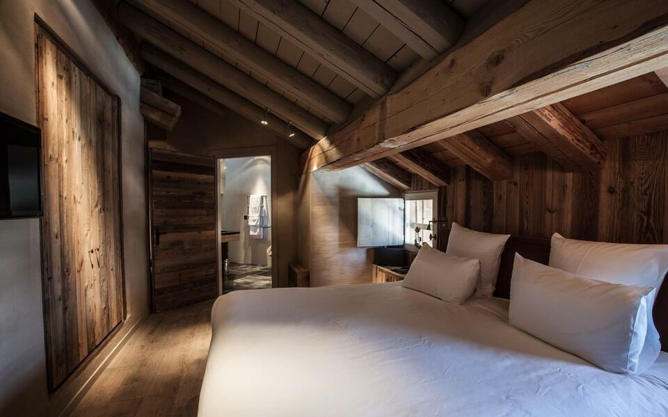 le chalet zannier a design boutique hotel meg ve france. Black Bedroom Furniture Sets. Home Design Ideas