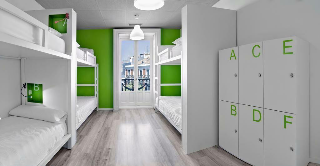 U hostels a design boutique hotel madrid spain for Design boutique hotel madrid