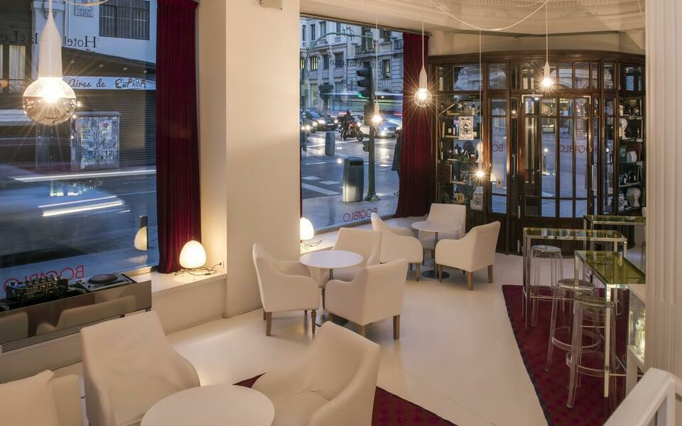 Siete islas madrid perfect lobby hotel siete islas - Hotel siete islas madrid ...