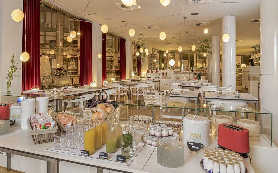 Iberostar las letras gran via a design boutique hotel for Design boutique hotel madrid