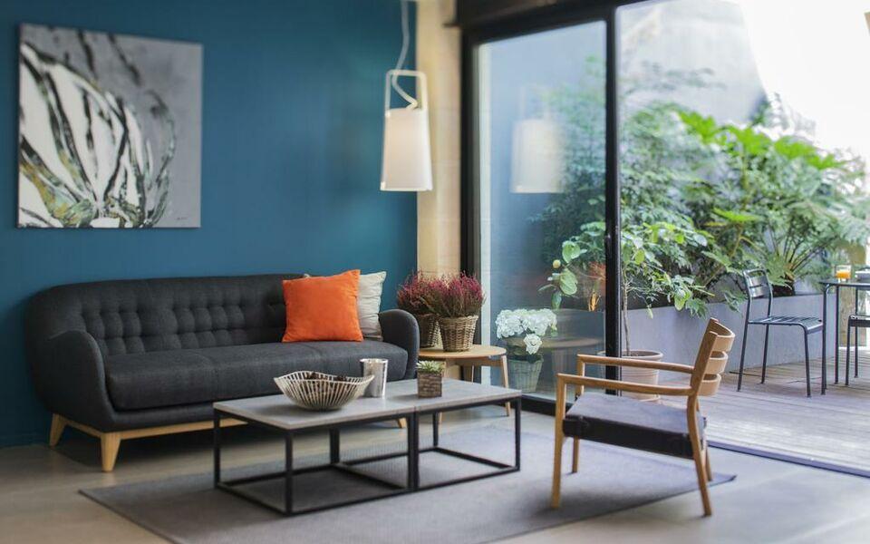 H tel la courcarr e bordeaux centre a design boutique for La boutique hotel de bordeaux