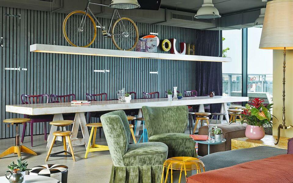 25hours hotel beim museumsquartier a design boutique for Designhotel 25hours