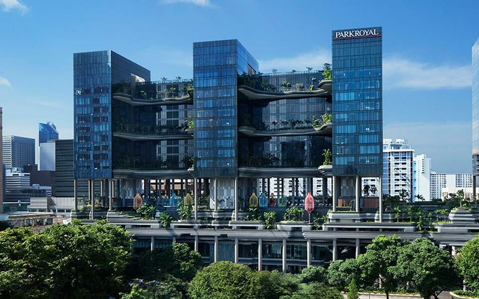 Parkroyal On Pickering A Design Boutique Hotel Singapore Singapore