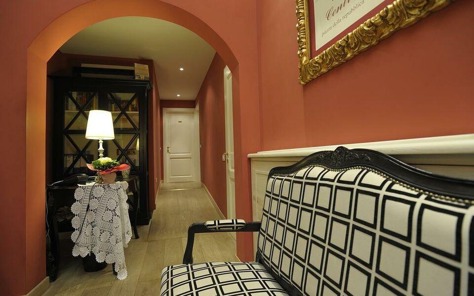 Luxury b b la dimora degli angeli a design boutique hotel for Design hotel florence