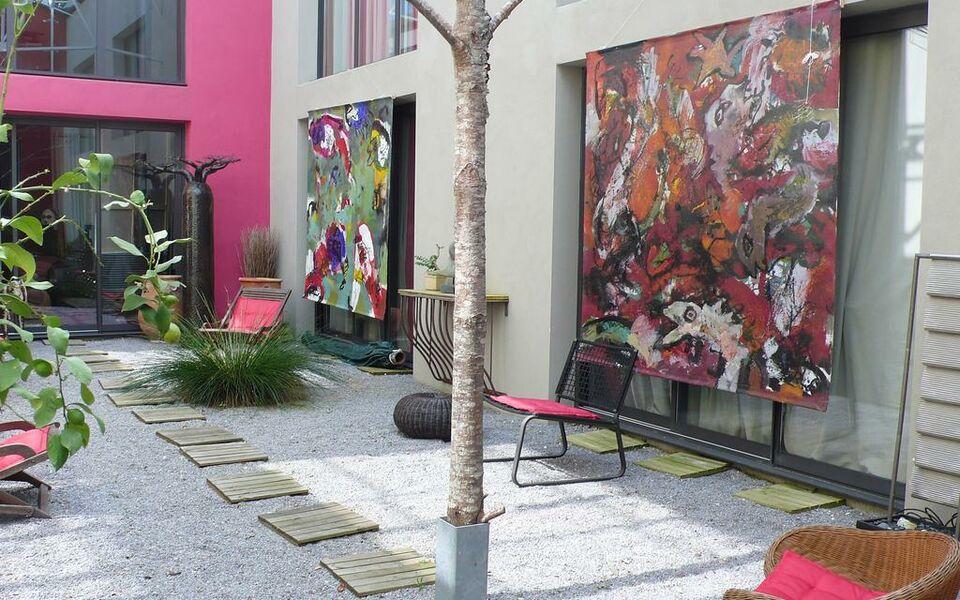 Chambre d 39 h tes le poteau rose a design boutique hotel - Chambre d hotes le poteau rose ...