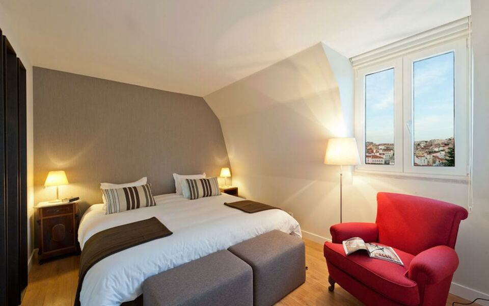 Casa balthazar a design boutique hotel lisbon portugal for Design boutique hotel lisbon