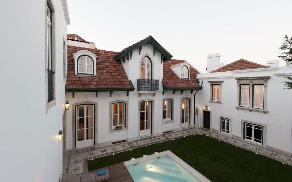 Casa balthazar a design boutique hotel lisbon portugal for Lisbon boutique hotel swimming pool