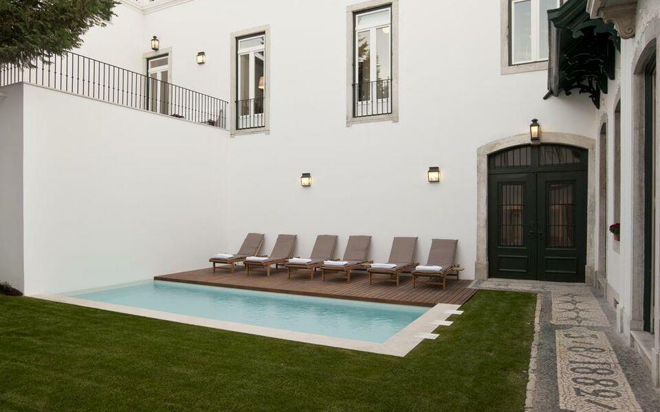 Casa balthazar lisbonne portugal my boutique hotel for Hotel boutique lisbonne