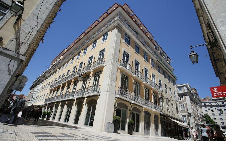 Hotel santa justa lissabon portugal for Design boutique hotels lissabon