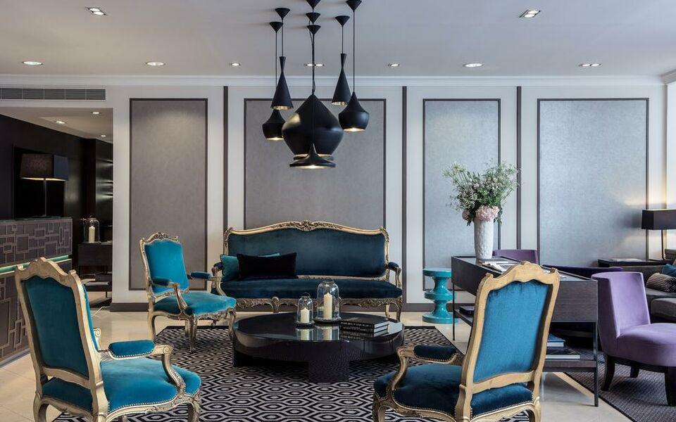 Vasca Da Bagno Esprit : Hôtel mansart esprit de france parigi francia