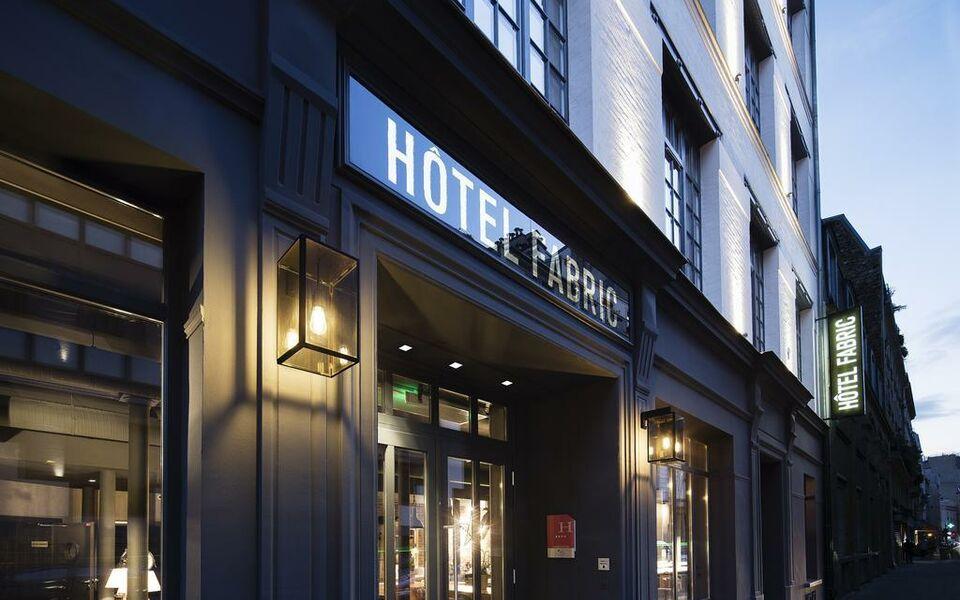 H tel fabric a design boutique hotel paris france for Boutique hotels france