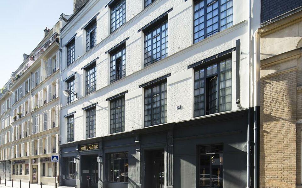 H tel fabric a design boutique hotel paris france for Hotel design france