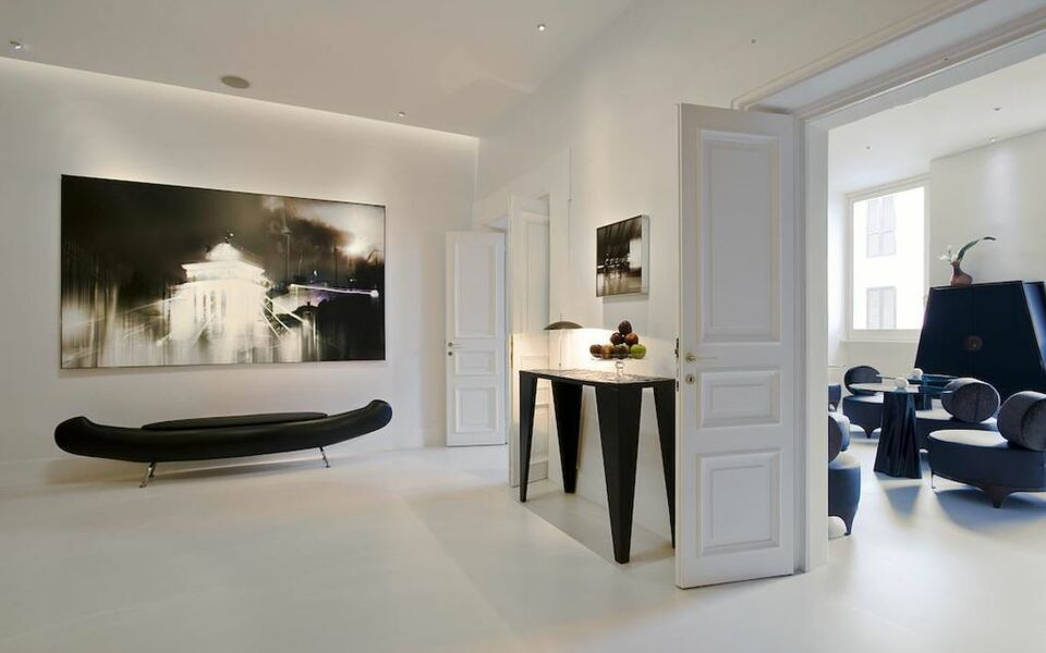 Piazza di spagna 9 a design boutique hotel rome italy for Design hotel roma