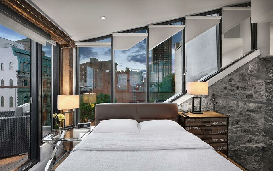 Hotel pik montr al a design boutique hotel montr al canada for Hotel design montreal
