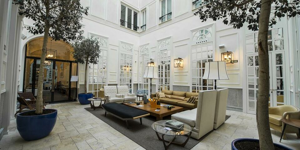 Only You Hotel Lounge Madrid A Design Boutique Hotel