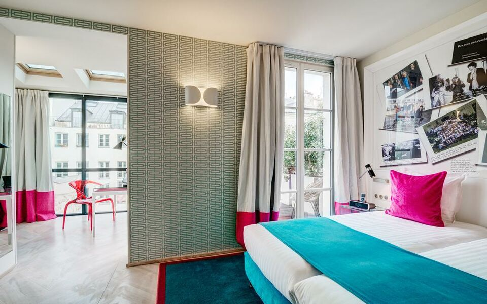 le 123 s bastopol astotel a design boutique hotel paris france. Black Bedroom Furniture Sets. Home Design Ideas