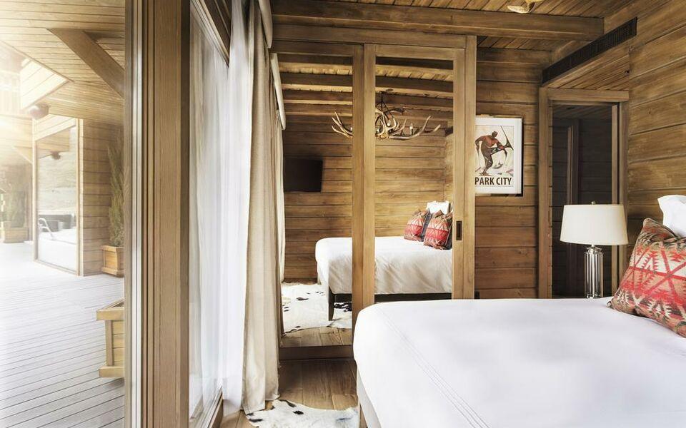 El lodge ski spa a design boutique hotel sierra nevada for Design skihotel