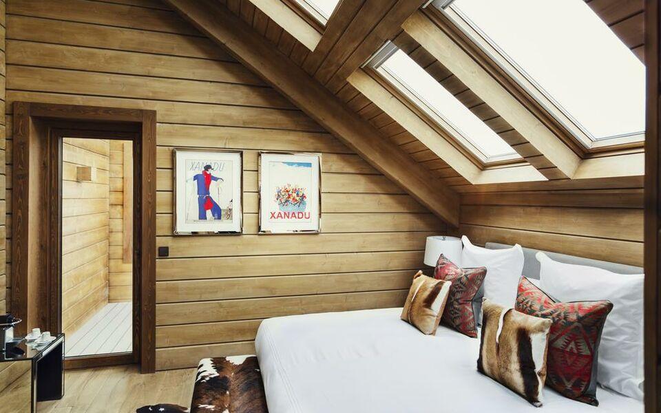 El lodge ski spa a design boutique hotel sierra nevada for Boutique hotel ski