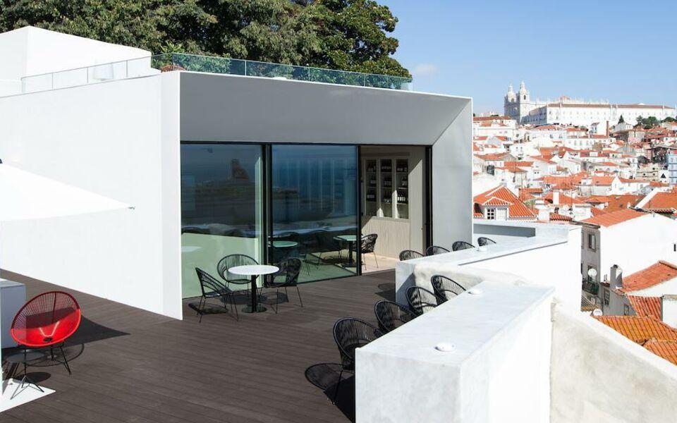 Memmo alfama design hotel lissabon portugal for Design und boutique hotels mydays