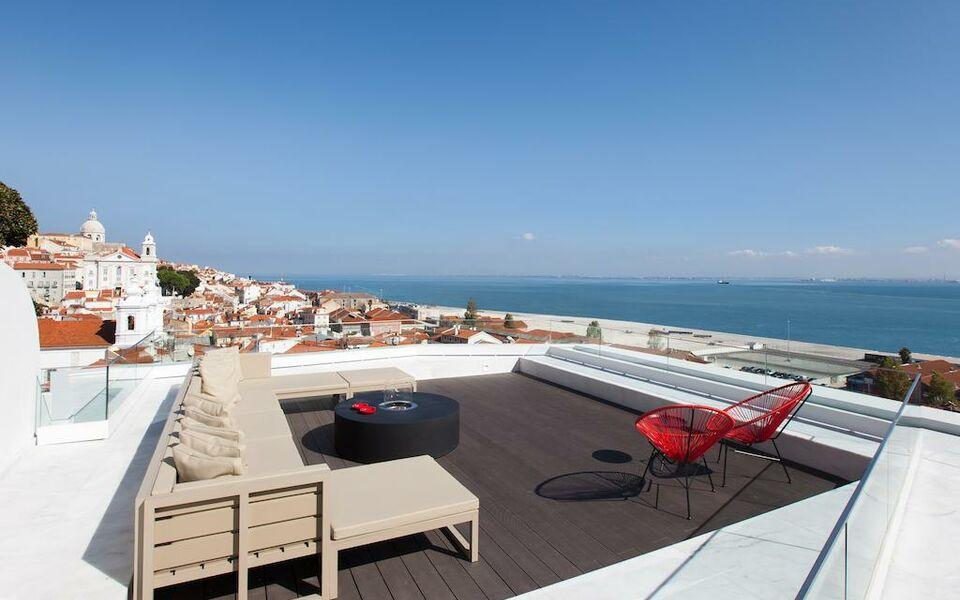 Memmo alfama design hotels lisbonne portugal my for Design boutique hotels algarve