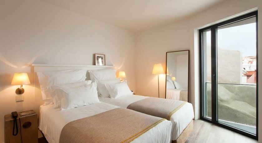Memmo alfama design hotel lisbonne portugal my boutique hotel for Chambre double lits jumeaux
