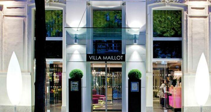 La villa maillot paris france my boutique hotel for La villa corse porte maillot