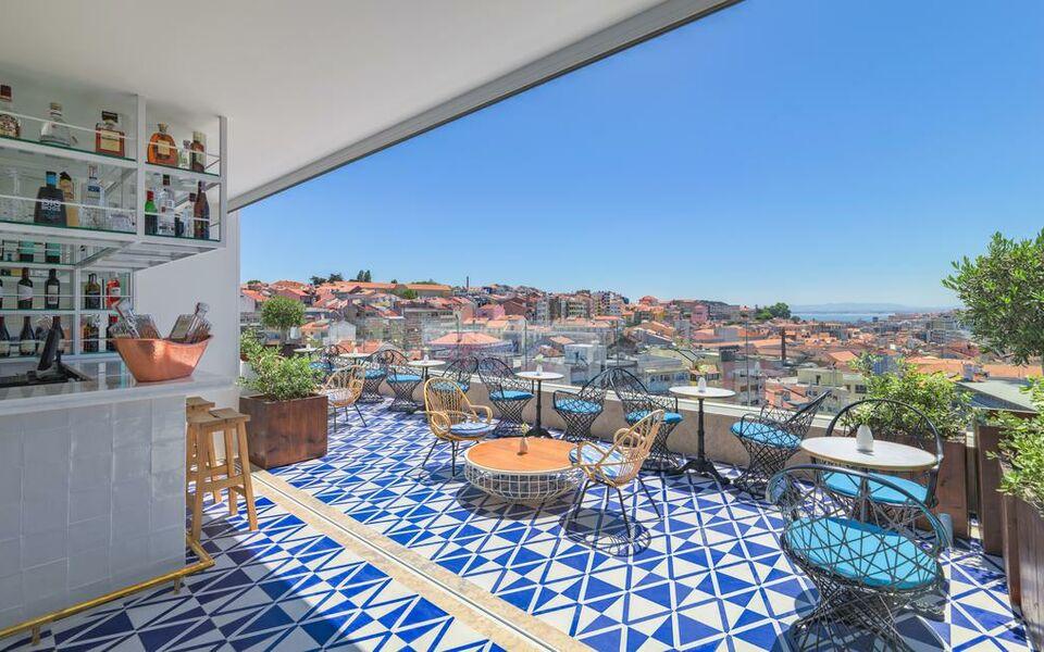 H10 duque de loule a design boutique hotel lisbon portugal for Design boutique hotels lissabon
