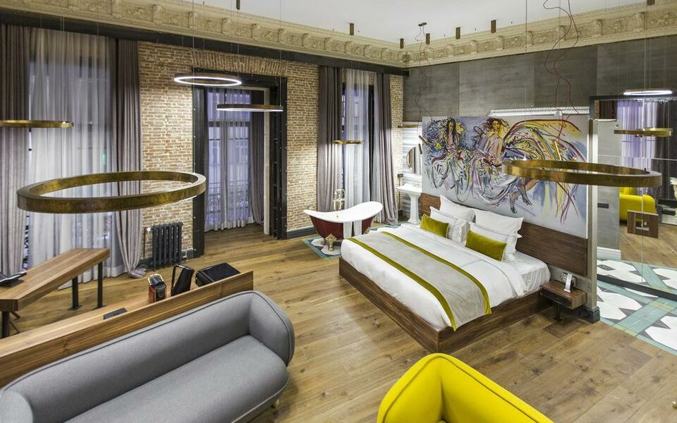 The public hotel istanbul special category a design for Decor hotel istanbul