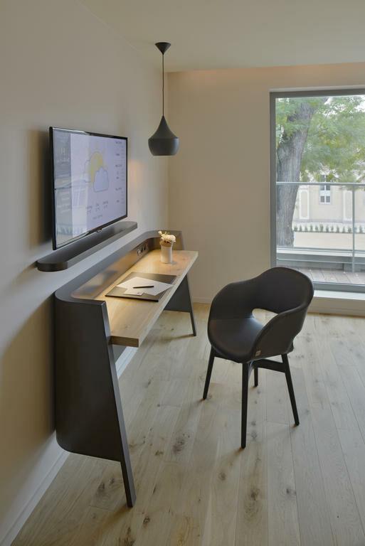Hotel Room Desk: Hôtel Les Haras, A Design Boutique Hotel Strasbourg, France