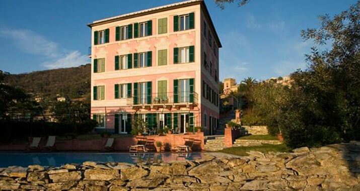Villa rosmarino a design boutique hotel camogli italy for Boutique hotel liguria