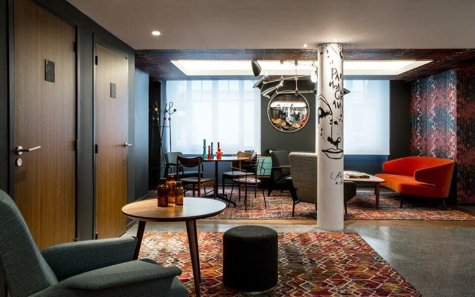 le g n ral h tel paris frankreich. Black Bedroom Furniture Sets. Home Design Ideas