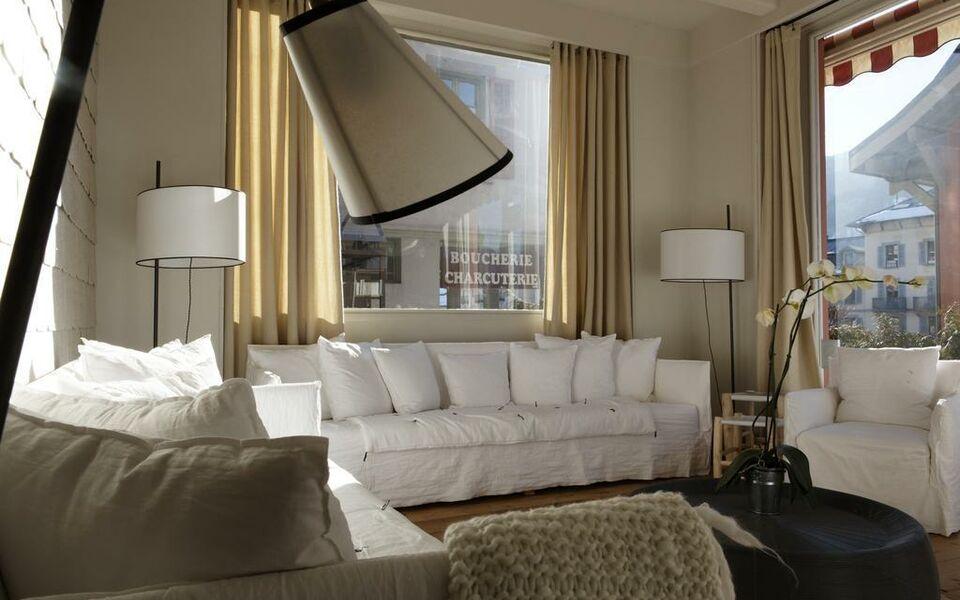 boutique h tel la f line blanche saint gervais les bains. Black Bedroom Furniture Sets. Home Design Ideas