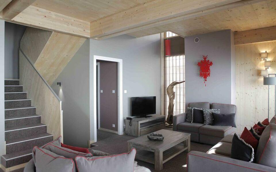 l aiguille grive chalets hotel arc 1800 frankreich
