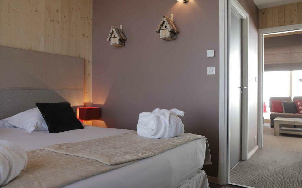 L 39 aiguille grive chalets hotel a design boutique hotel for Boutique hotel ski