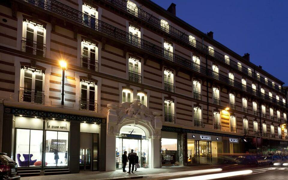 Le grand h tel grenoble a design boutique hotel grenoble for Hotel design centre france