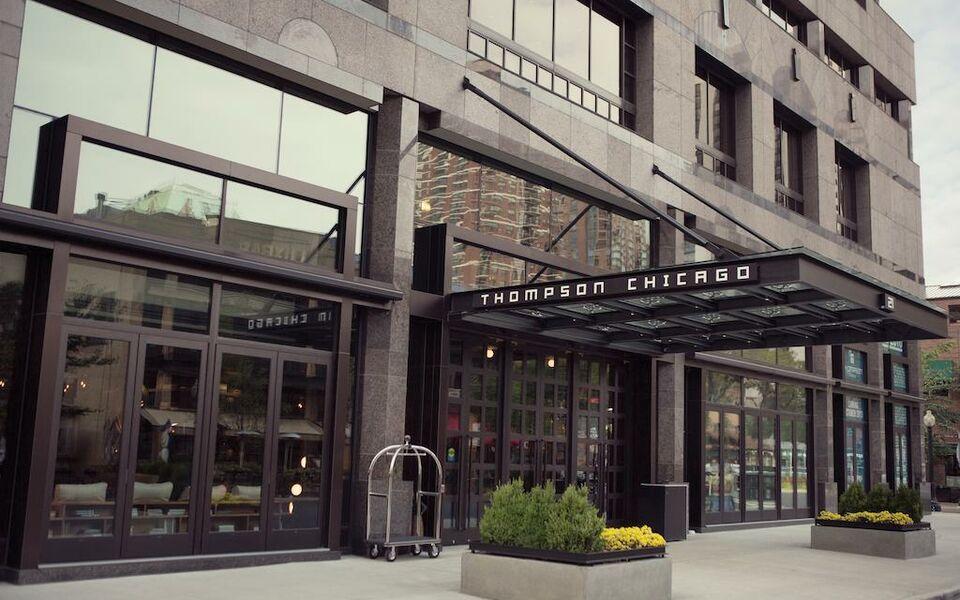 Thompson chicago chicago vereinigte staaten von amerika for Boutique hotels gold coast chicago