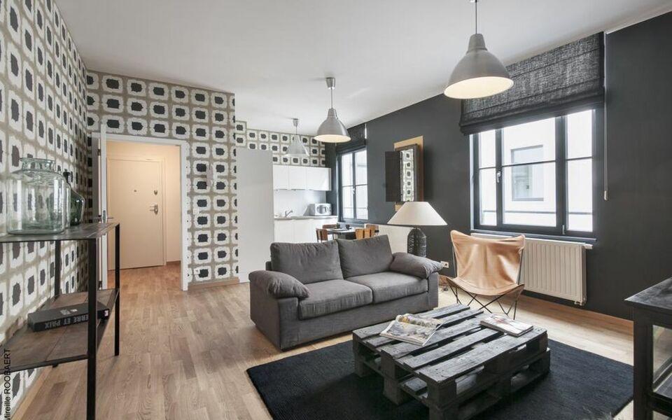 appartement quartier grand place bruxelles belgique my boutique hotel. Black Bedroom Furniture Sets. Home Design Ideas