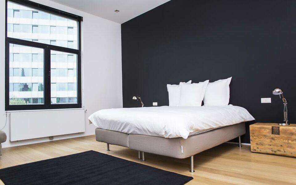 Appartement halle aux bl s a design boutique hotel for Appartement design bruxelles