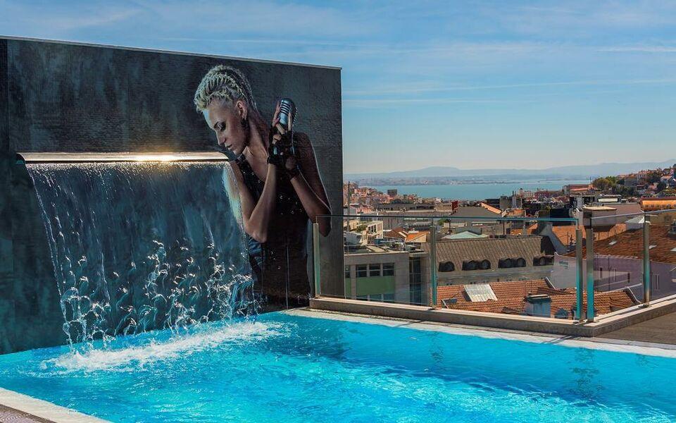 Hf fenix music lissabon portugal for Lisbon boutique hotel swimming pool
