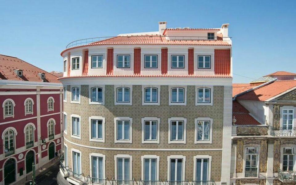 Teatro bed breakfast lissabon portugal for Design boutique hotels lissabon