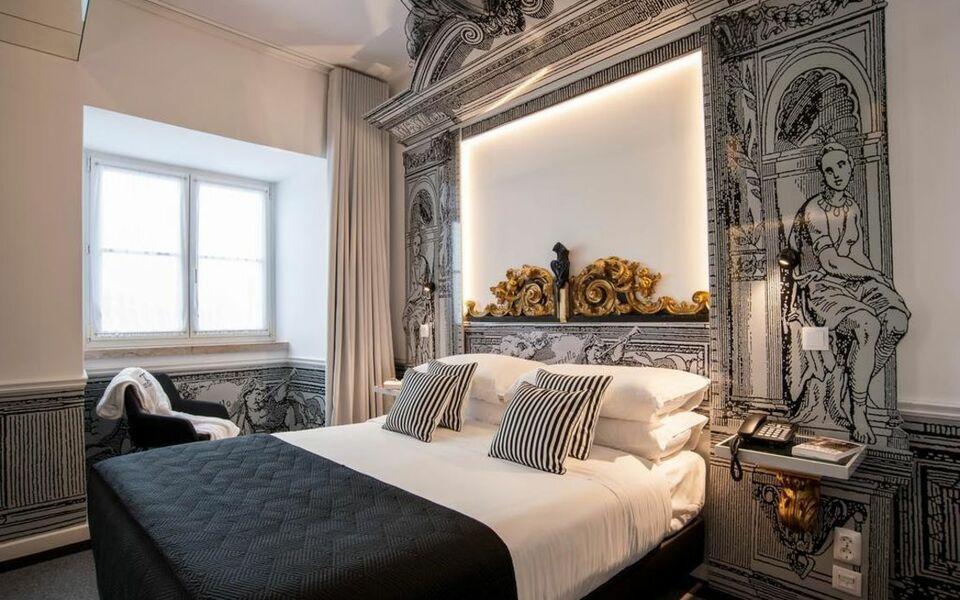 Teatro bed breakfast lisbonne portugal my boutique hotel for Hotel boutique lisbonne