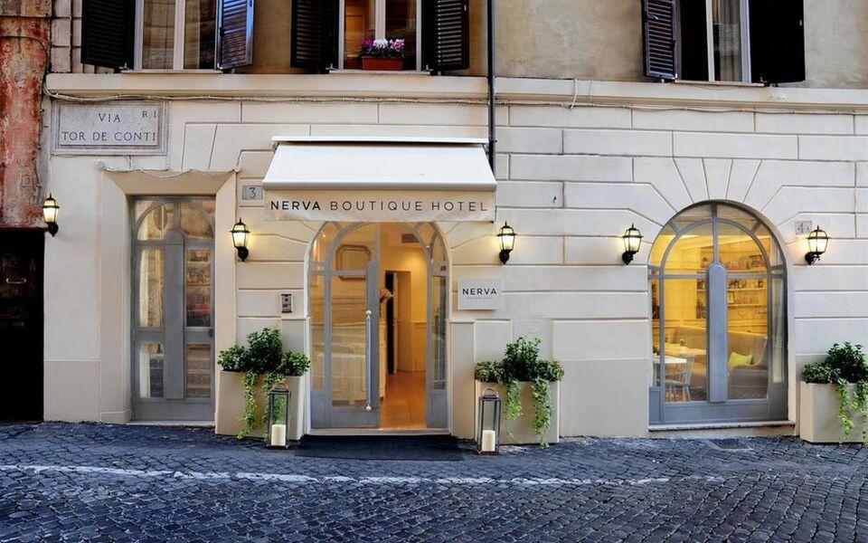 Nerva boutique hotel a design boutique hotel rome italy for Boutique hotel drome