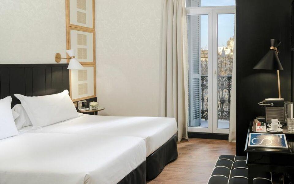 Boutique hotel h10 catalunya plaza barcelone espagne for Hotel boutique espagne