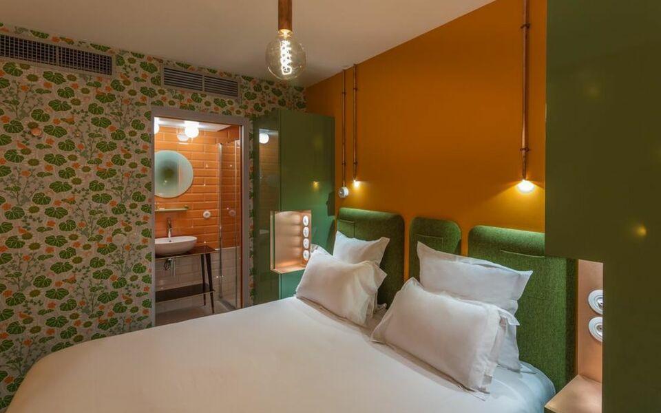H tel exquis by elegancia a design boutique hotel paris for Hotel design bastille