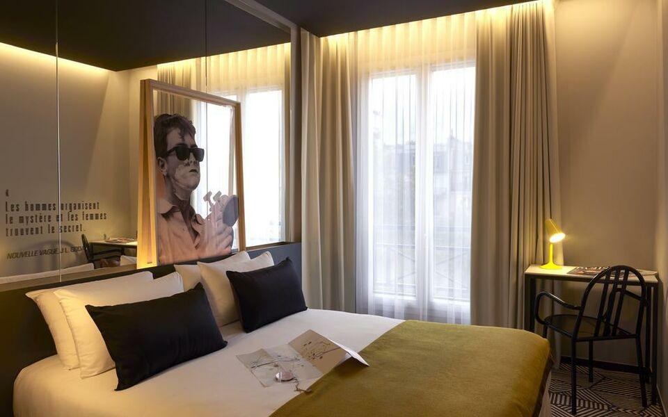 H tel gaston paris france my boutique hotel - Hotel paris chambre 5 personnes ...