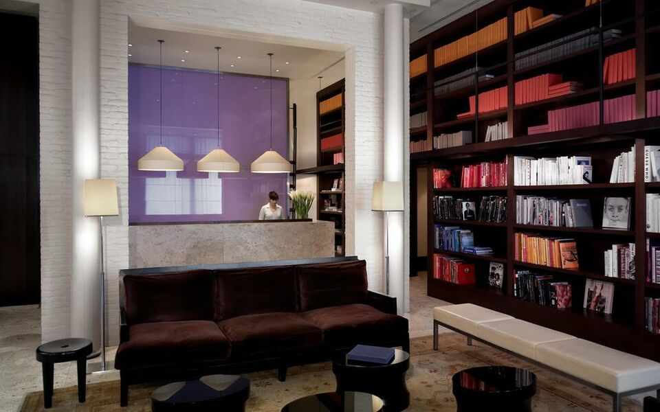 the mercer a design boutique hotel new york city u s a. Black Bedroom Furniture Sets. Home Design Ideas