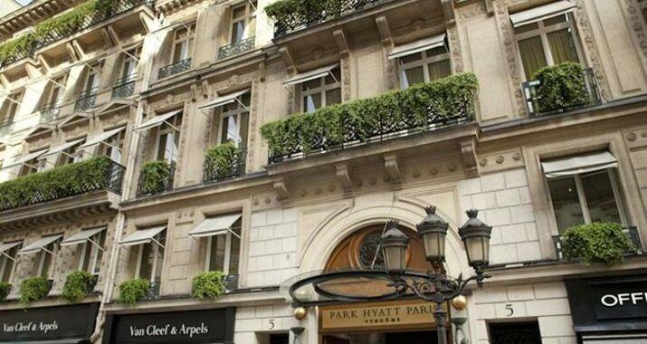 park hyatt paris vendome paris france my boutique hotel. Black Bedroom Furniture Sets. Home Design Ideas