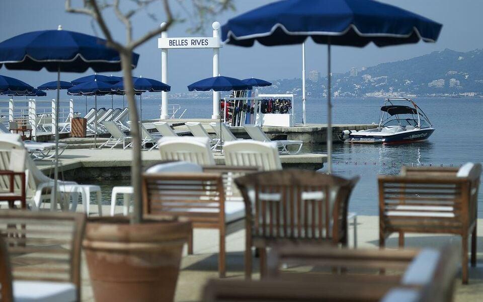 H tel belles rives a design boutique hotel juan les pins for Boutique hotel juan les pins