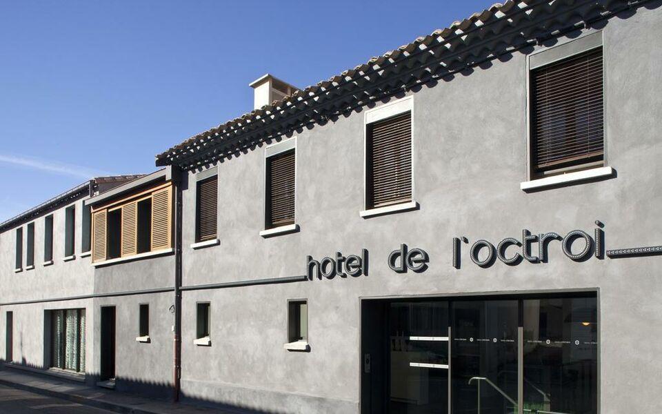 H tel de l 39 octroi a design boutique hotel carcassonne france for Hotels carcassonne